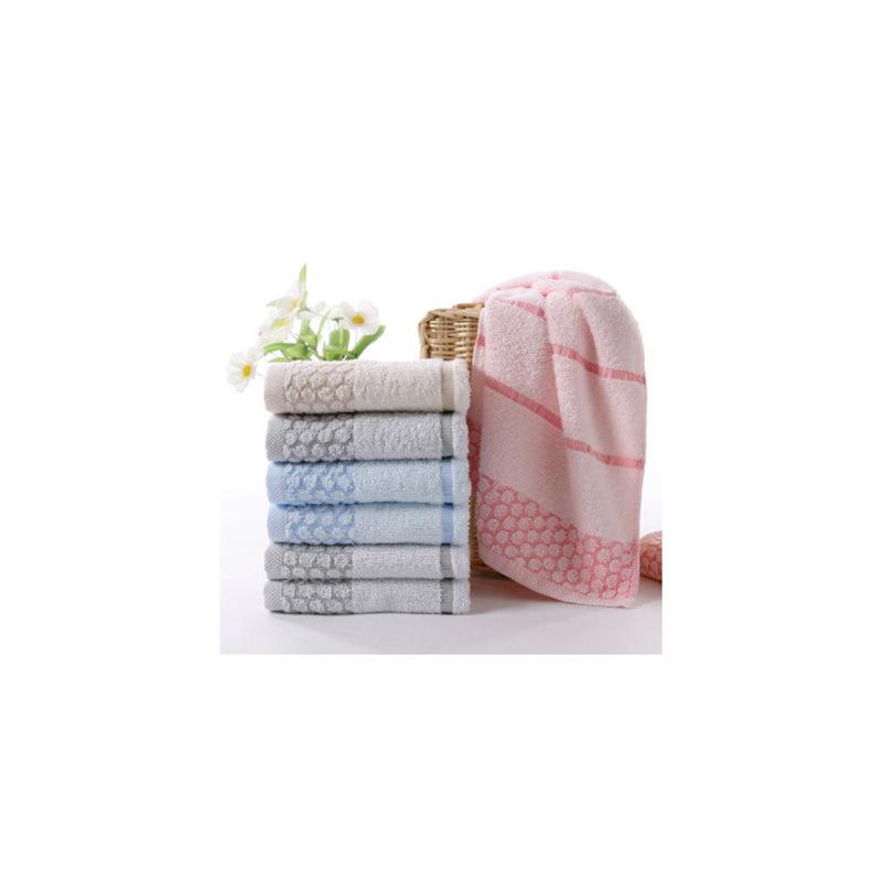 金号 RA027 纯棉吸水速干提缎毛巾 65*34cm 随机色 单条装